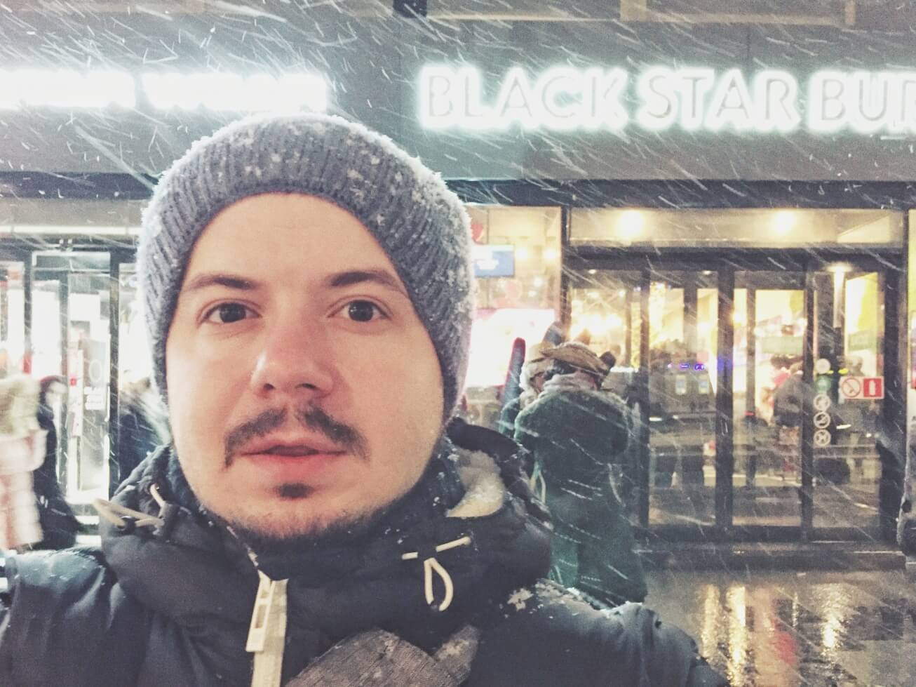 Blackstarburger на Новом Арбате